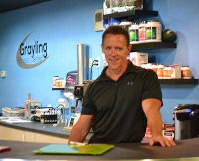 Richard Ferrigan Owner of Grayling Fitness Center